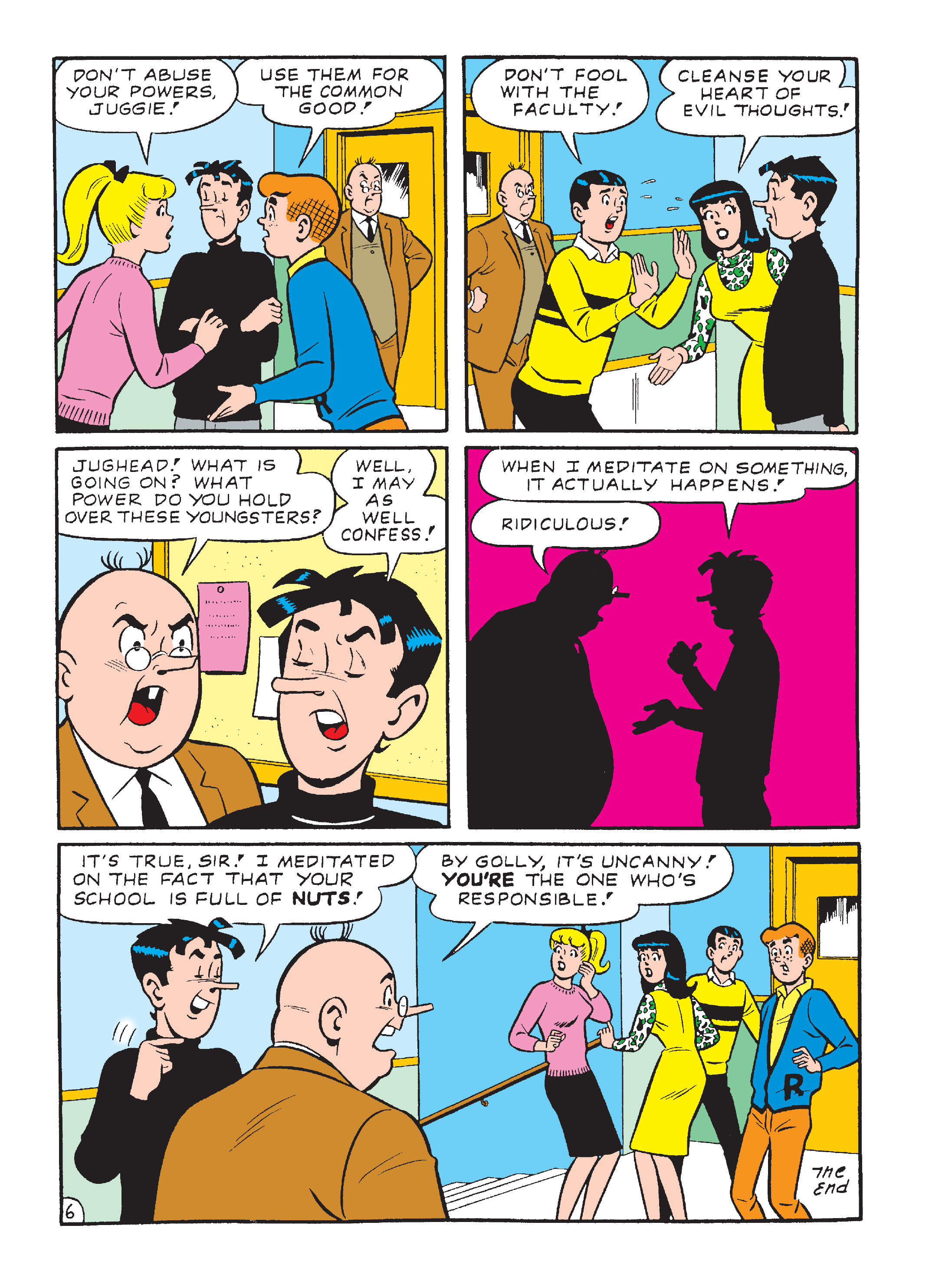 Read online Archie's Funhouse Double Digest comic -  Issue #23 - 130