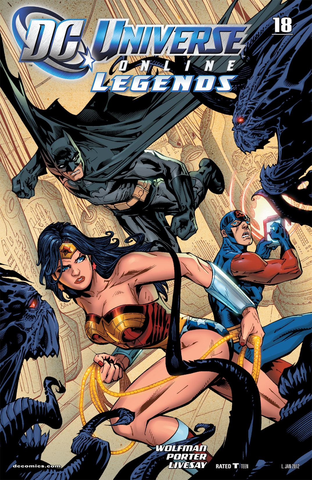DC Universe Online: Legends 18 Page 1