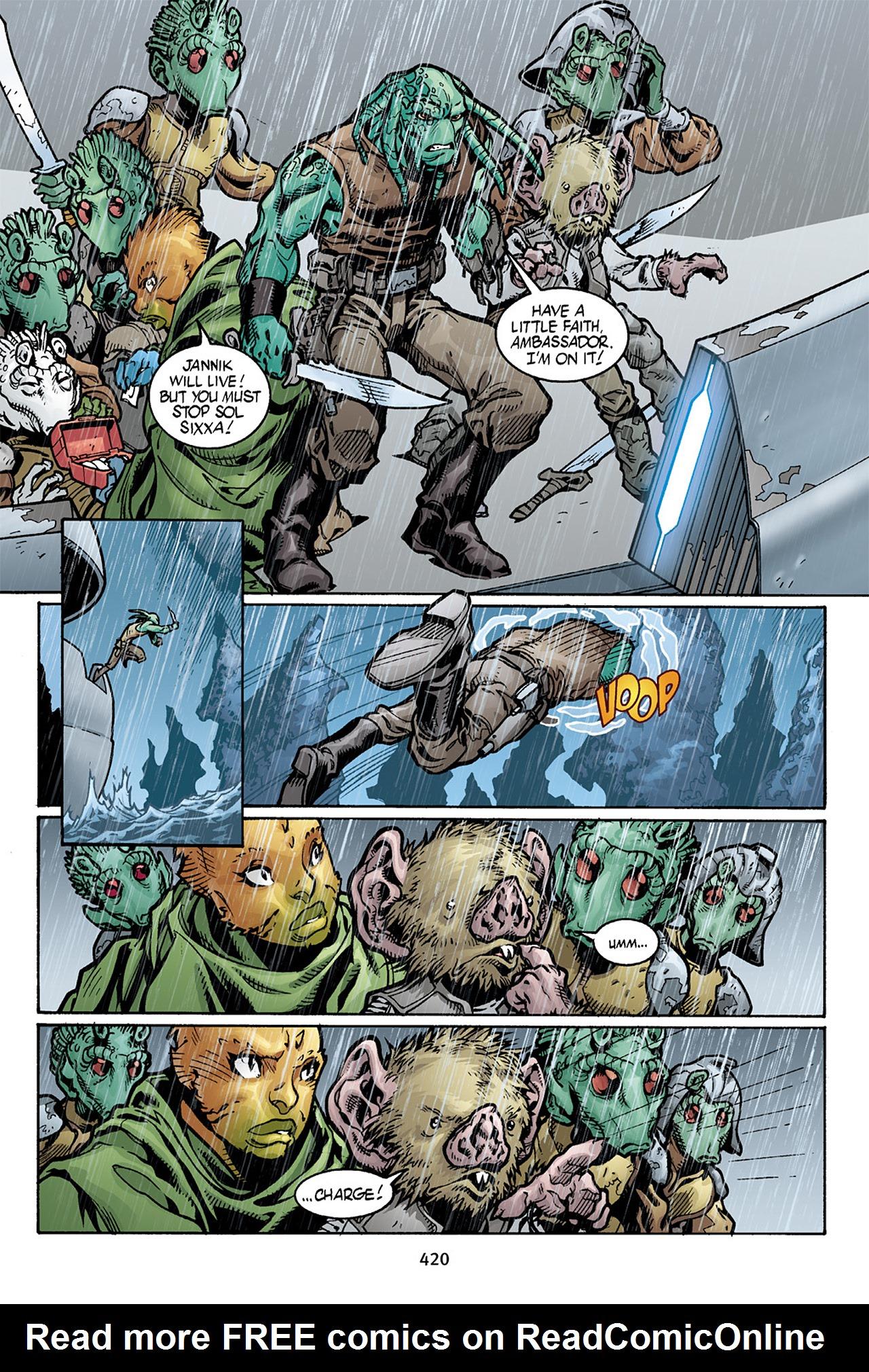 Read online Star Wars Omnibus comic -  Issue # Vol. 10 - 413