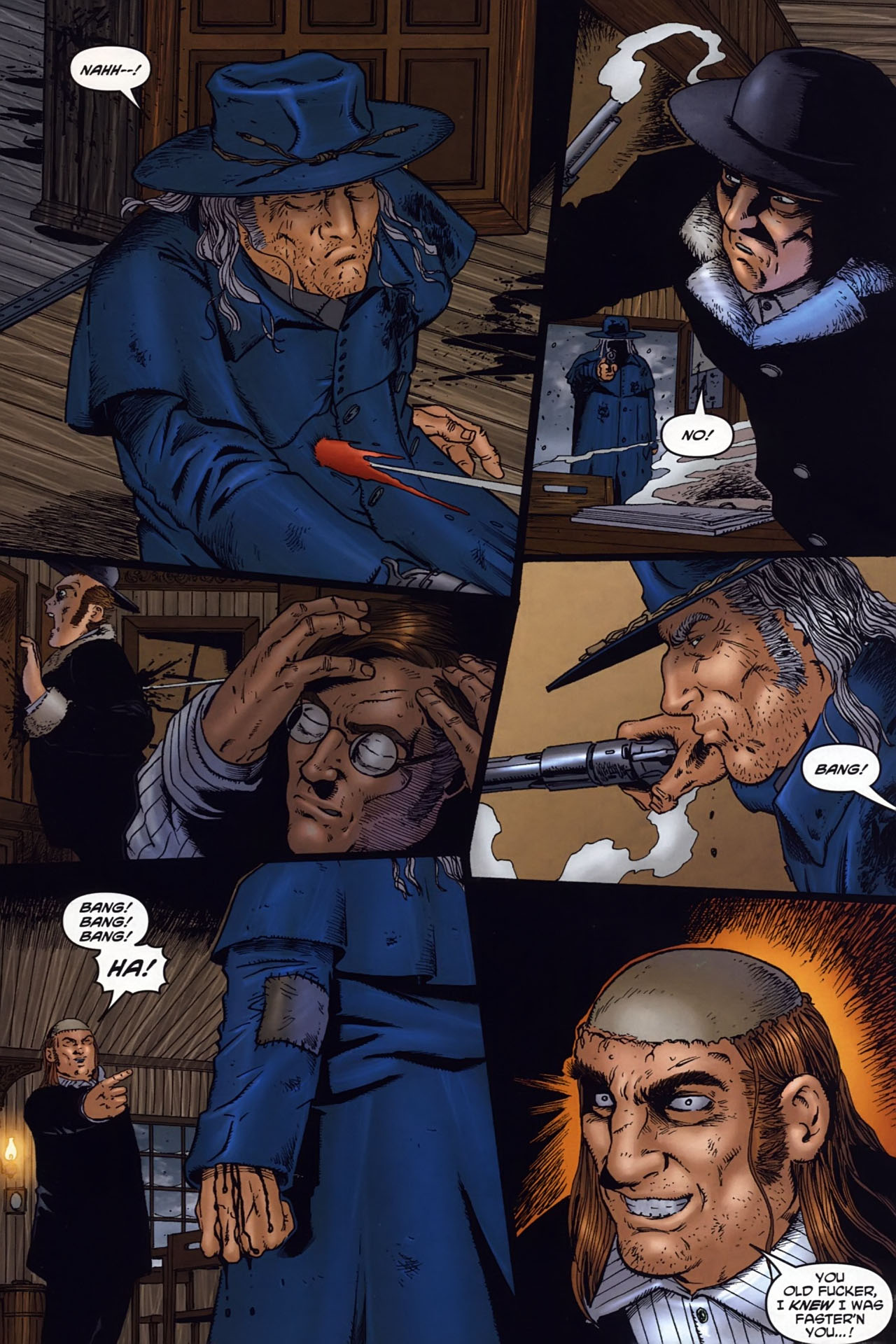 Read online Garth Ennis' Streets of Glory comic -  Issue #6 - 23