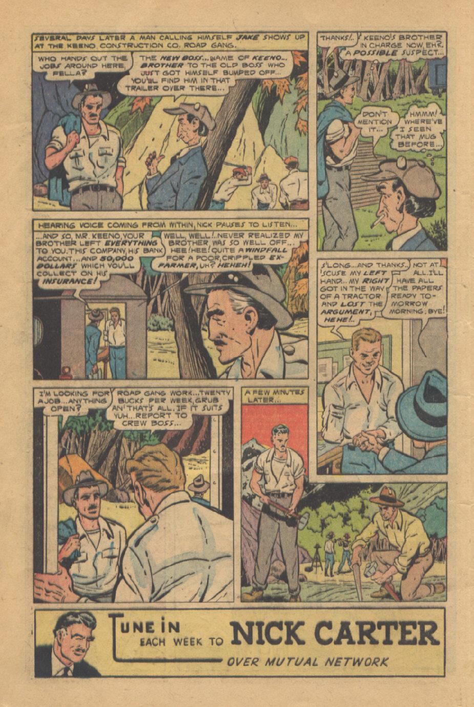 Read online Shadow Comics comic -  Issue #95 - 20