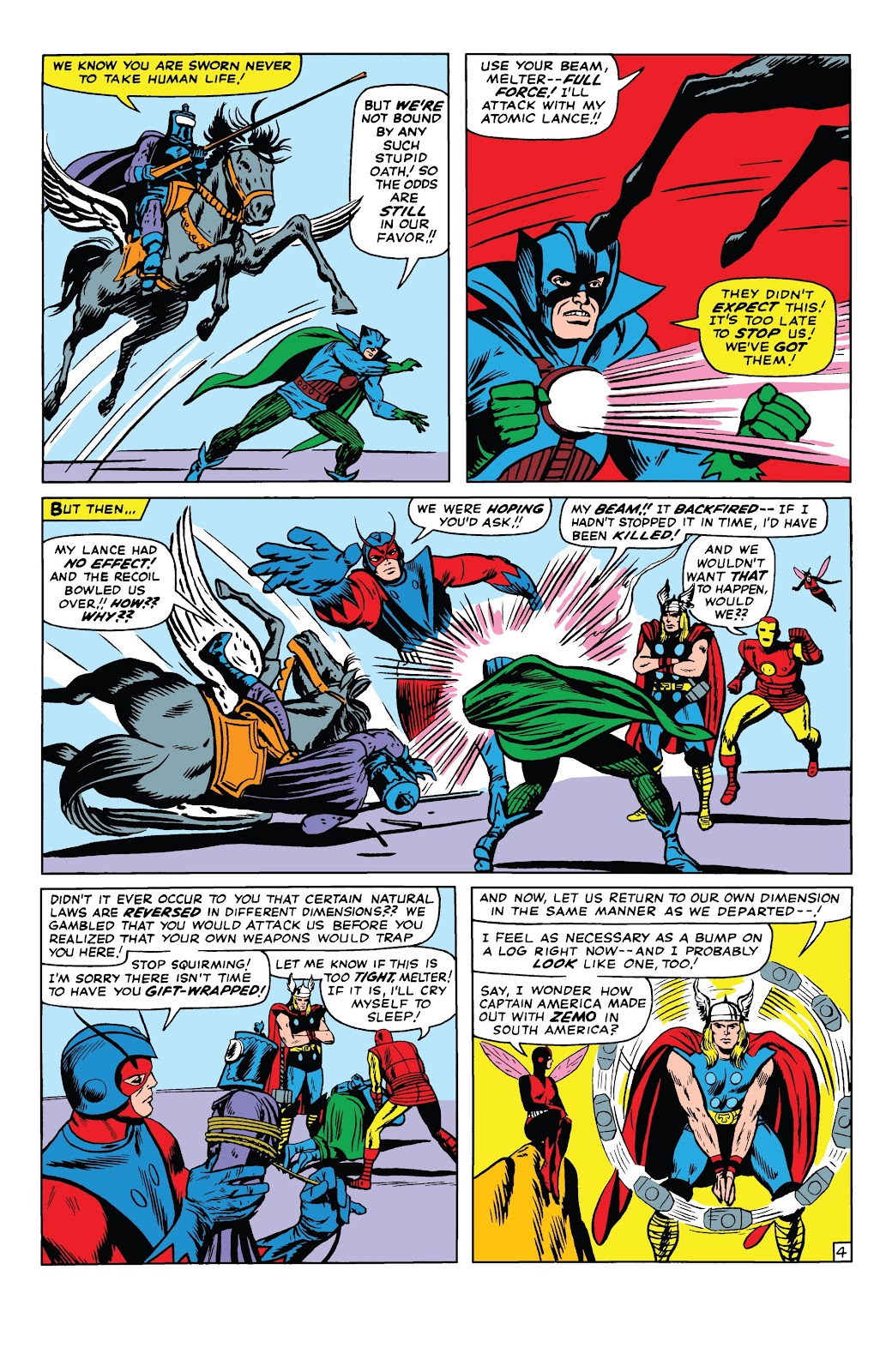Read online Marvel Tales: Avengers comic -  Issue # Full - 9