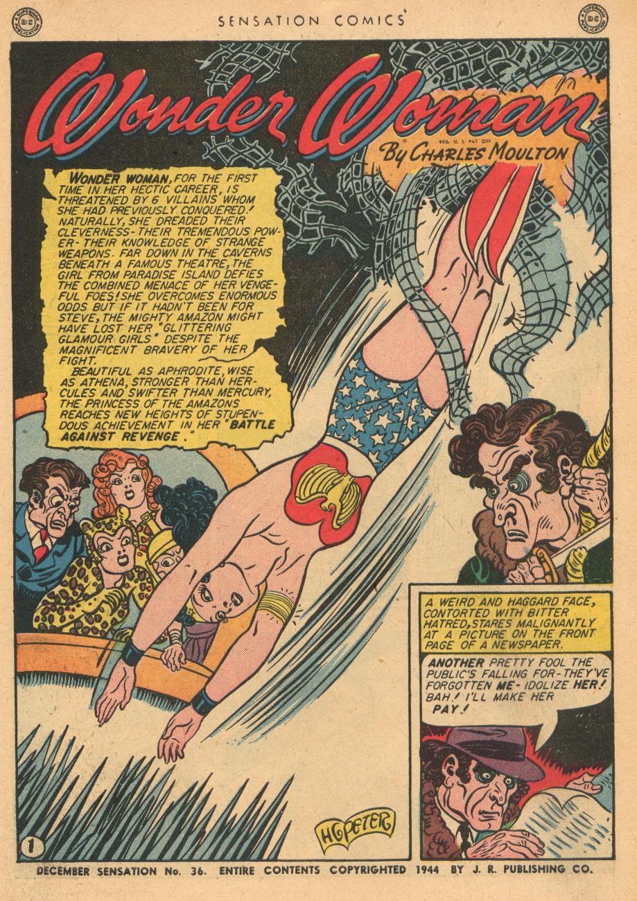 Read online Sensation (Mystery) Comics comic -  Issue #36 - 3