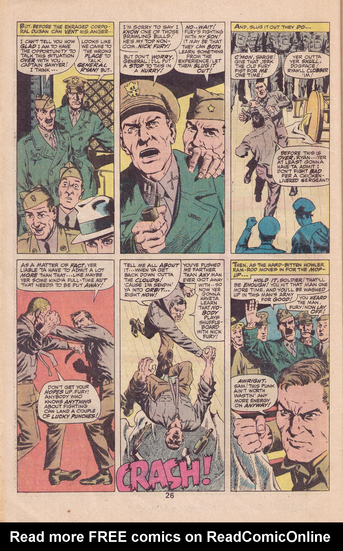 Read online Sgt. Fury comic -  Issue #140 - 28