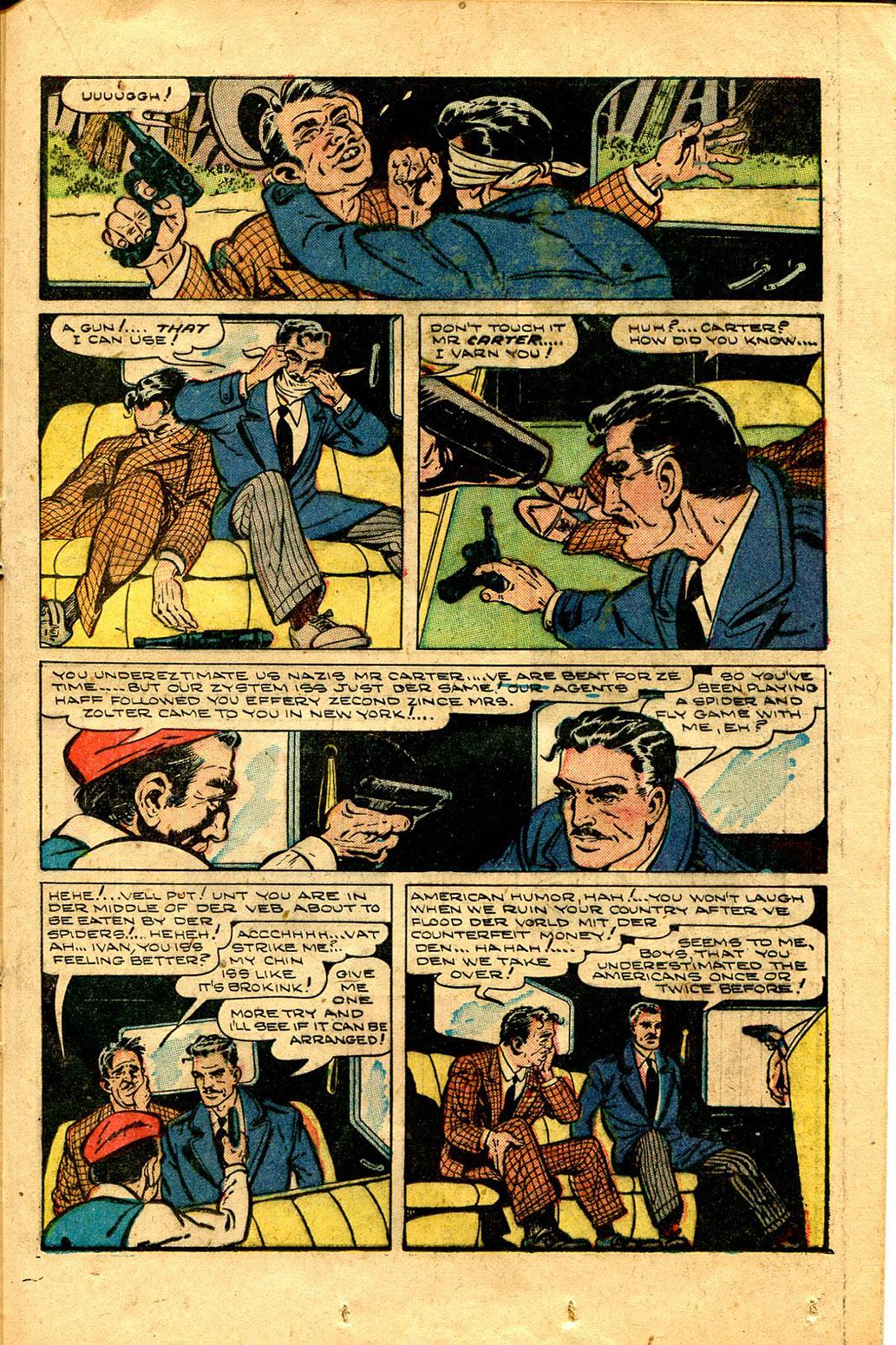 Read online Shadow Comics comic -  Issue #100 - 33