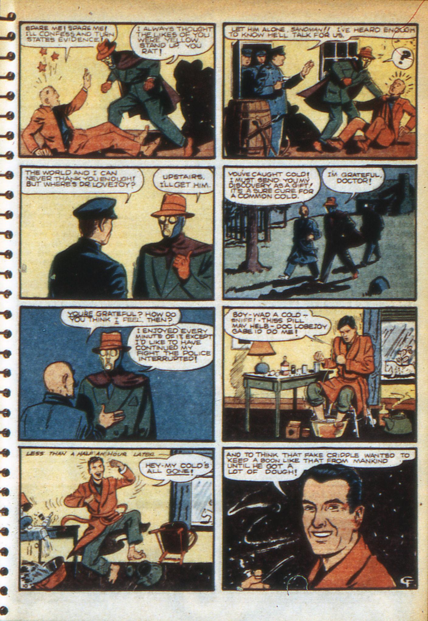Read online Adventure Comics (1938) comic -  Issue #49 - 33