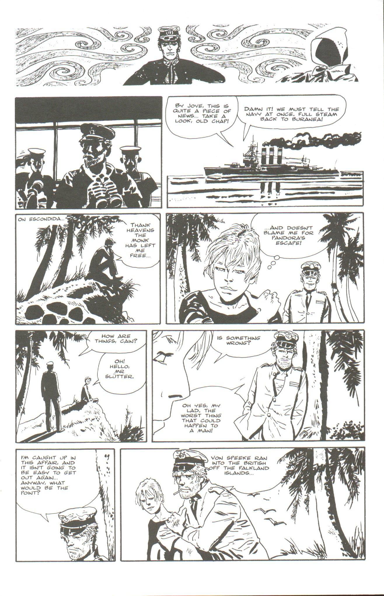 Read online Corto Maltese: Ballad of the Salt Sea comic -  Issue #6 - 9