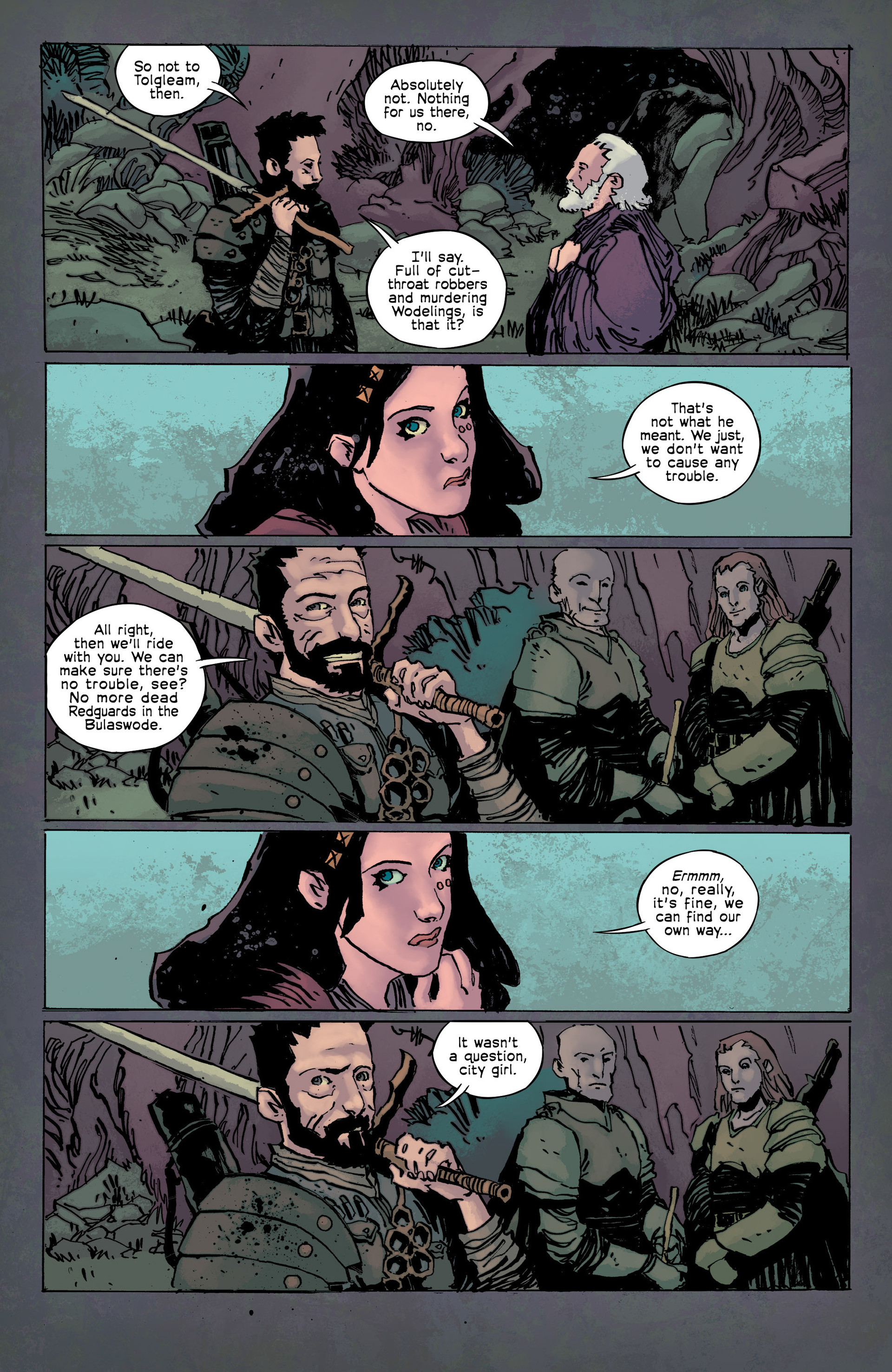 Read online Umbral comic -  Issue #9 - 6