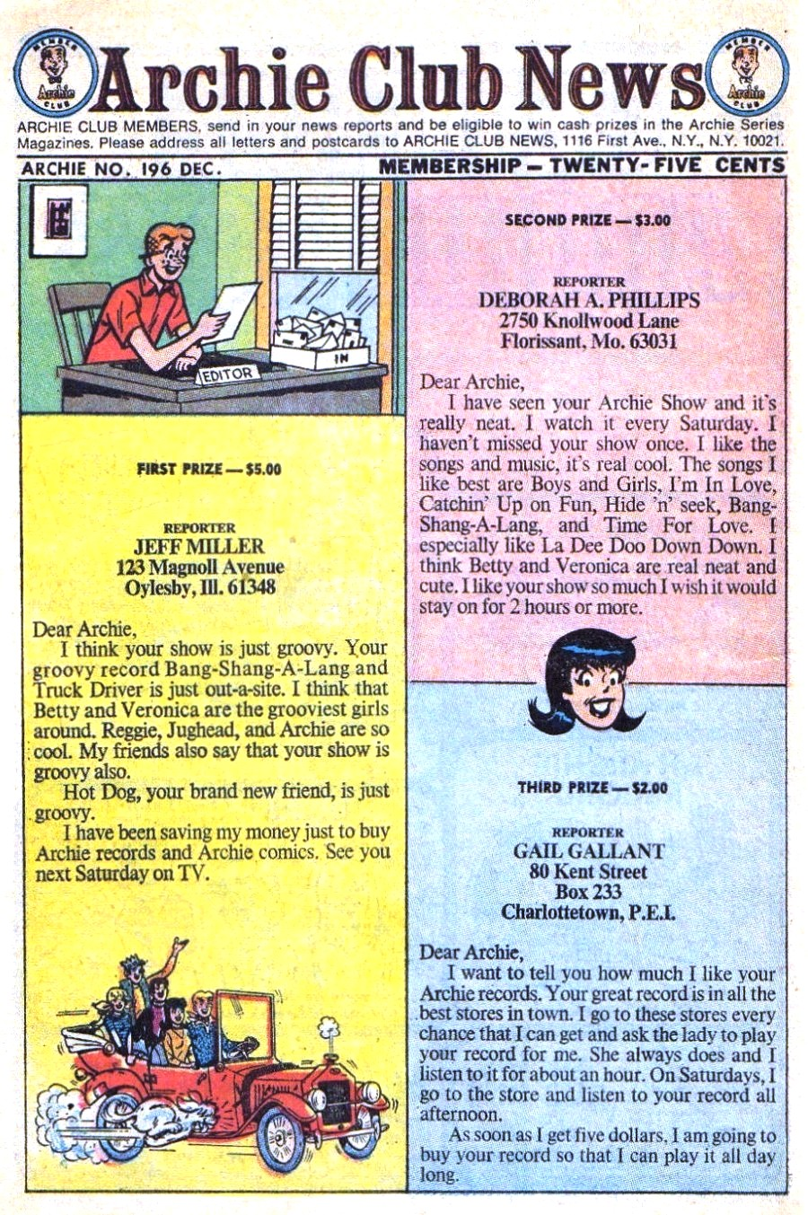 Read online Archie (1960) comic -  Issue #196 - 10