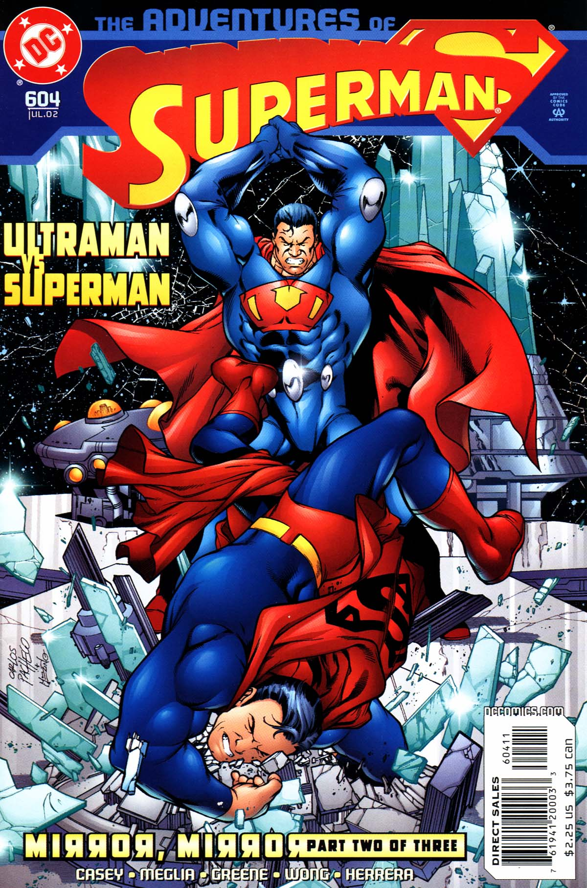 Read online Adventures of Superman (1987) comic -  Issue #604 - 1