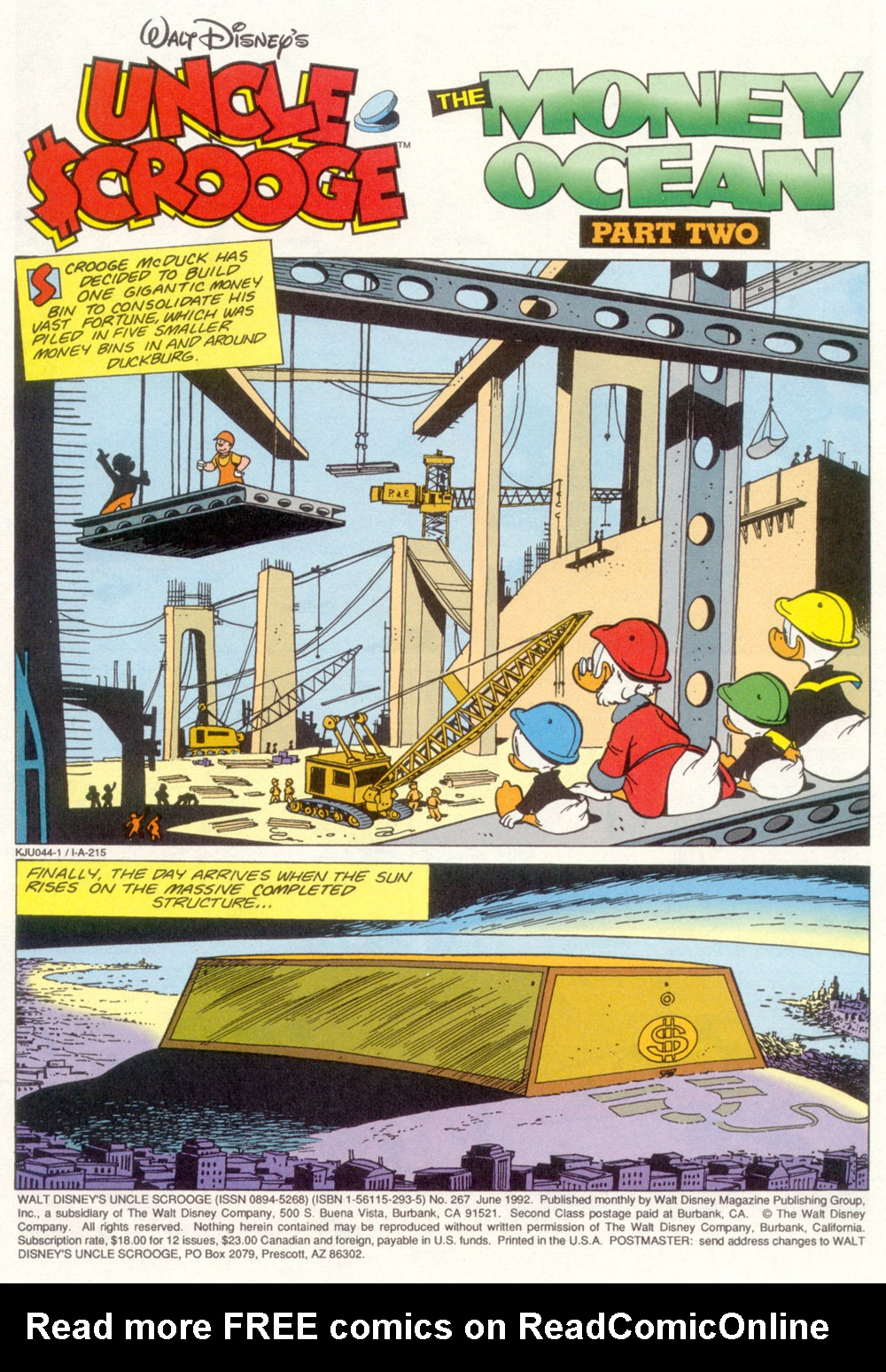 Read online Uncle Scrooge (1953) comic -  Issue #267 - 2
