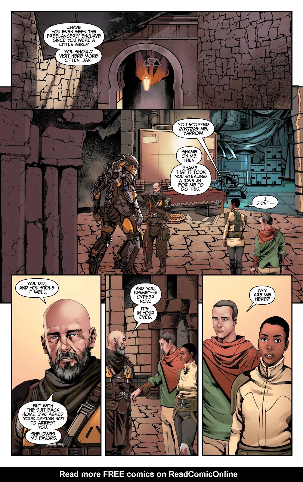 Read online Anthem comic -  Issue #2 - 19