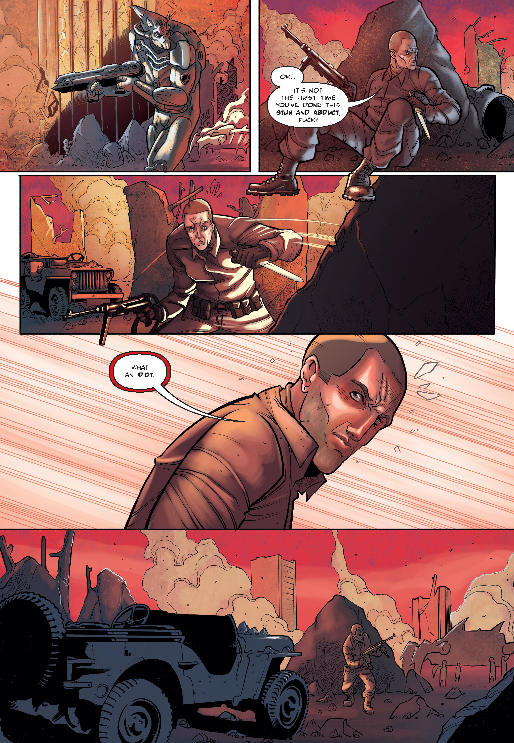 Read online The Shadow of a Terrible Thing comic -  Issue # TPB - 21