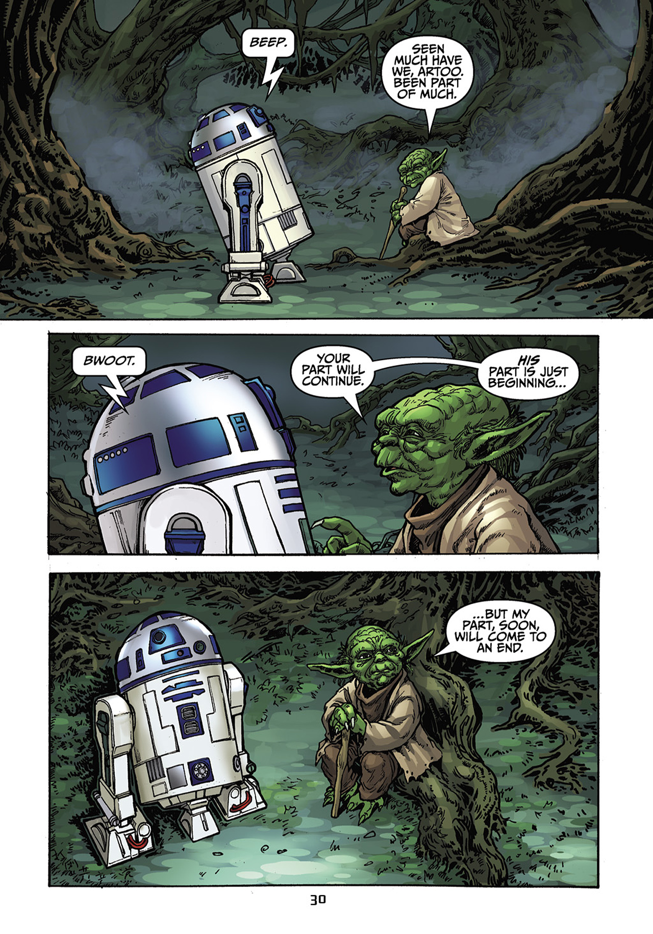 Read online Star Wars Omnibus comic -  Issue # Vol. 33 - 192