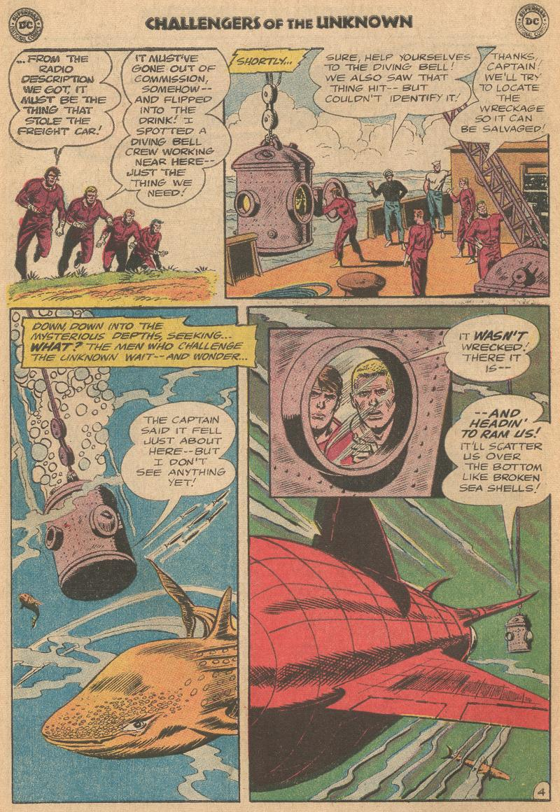 Challengers of the Unknown (1958) issue 40 - Page 6