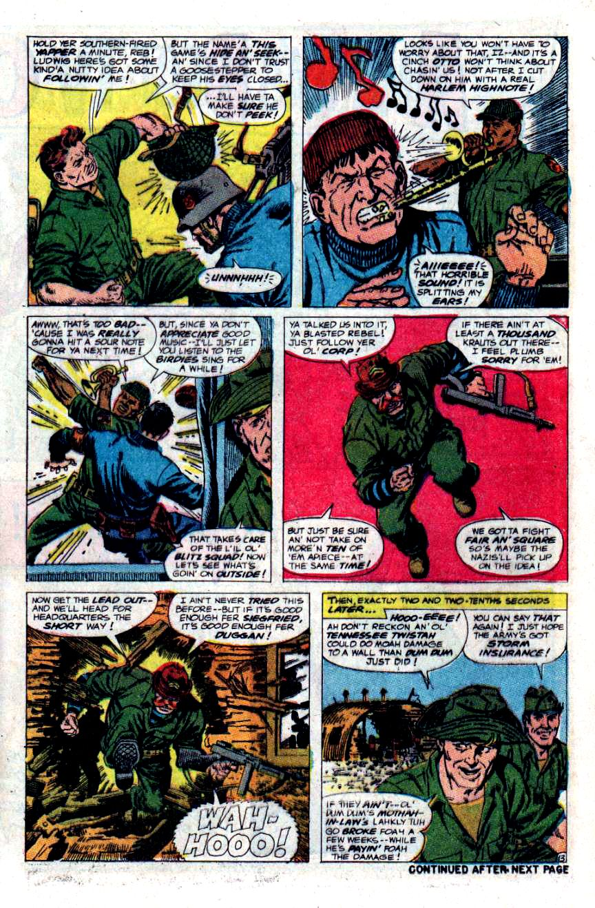 Read online Sgt. Fury comic -  Issue #48 - 17