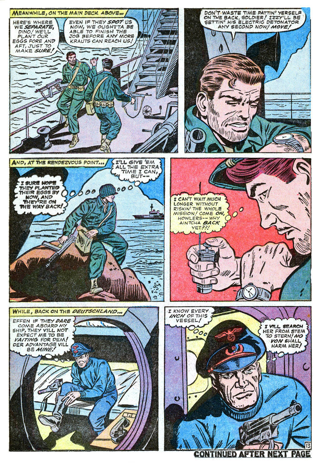 Read online Sgt. Fury comic -  Issue #18 - 18