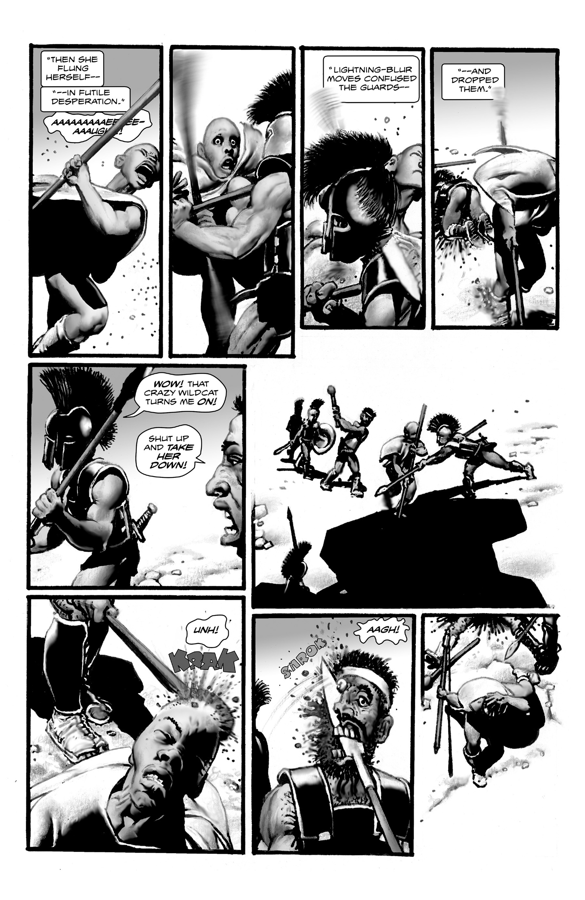 Read online Shadows on the Grave comic -  Issue #4 - 32