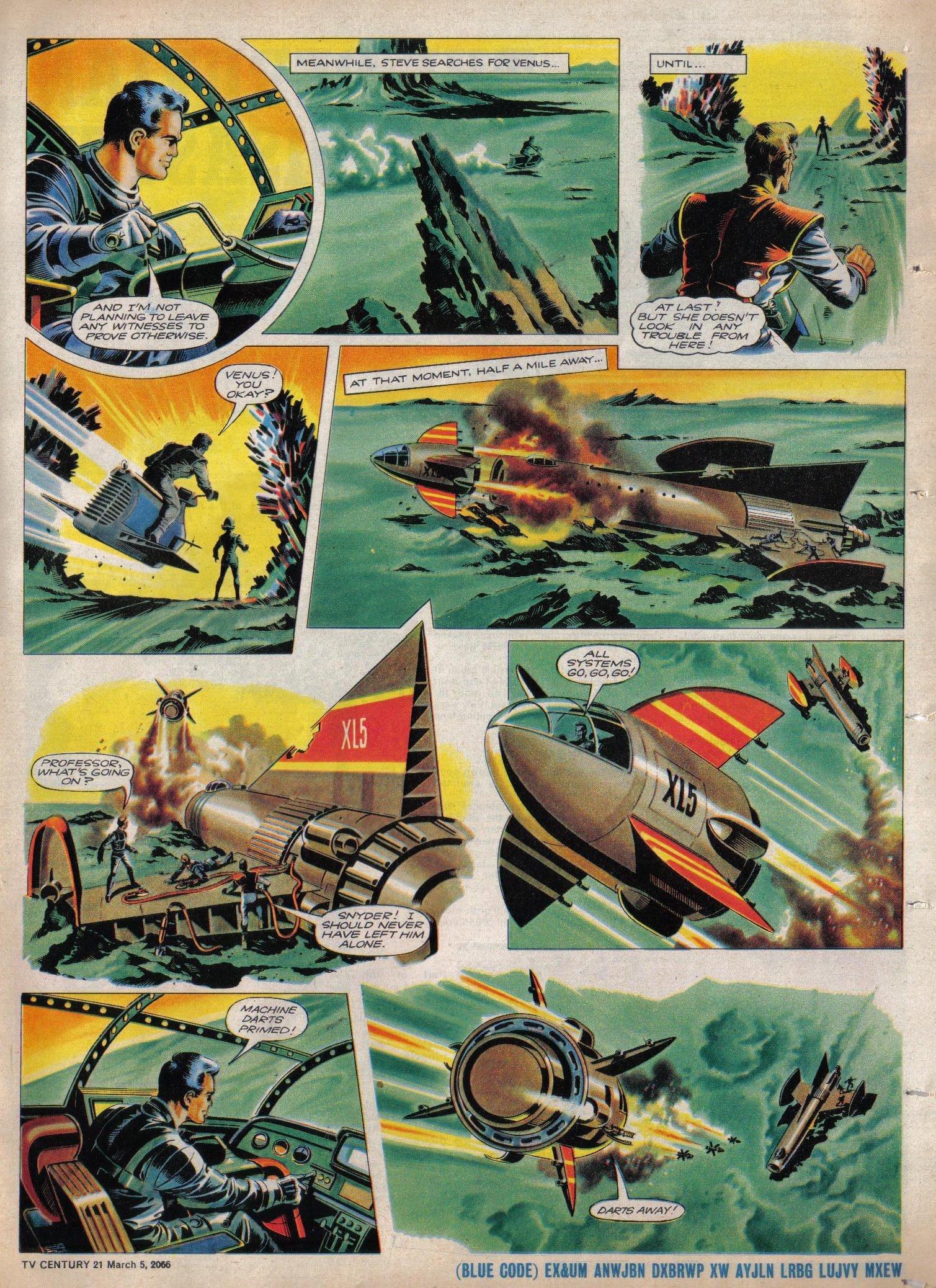 Read online TV Century 21 (TV 21) comic -  Issue #59 - 16