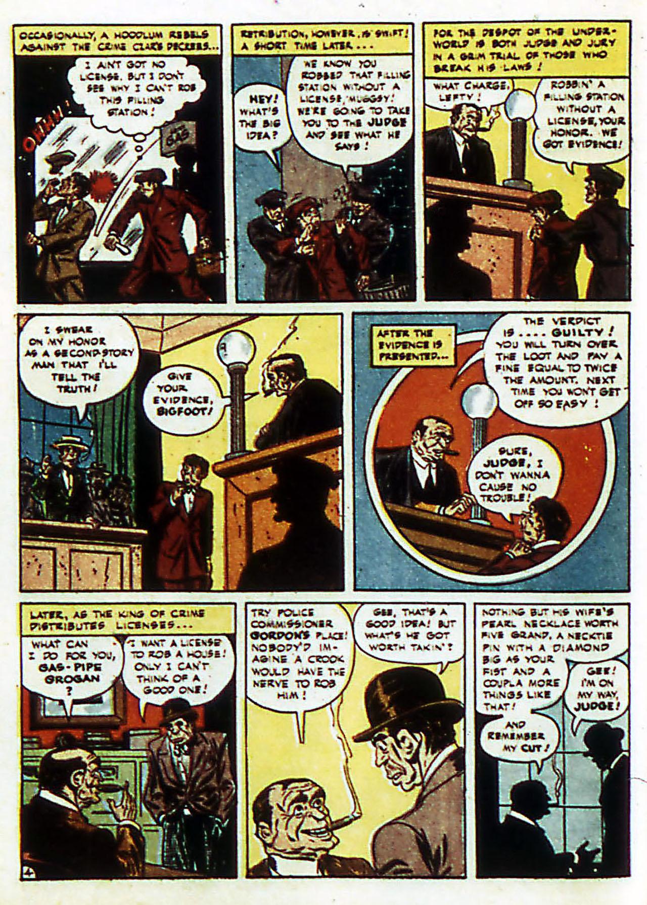 Read online Detective Comics (1937) comic -  Issue #72 - 7