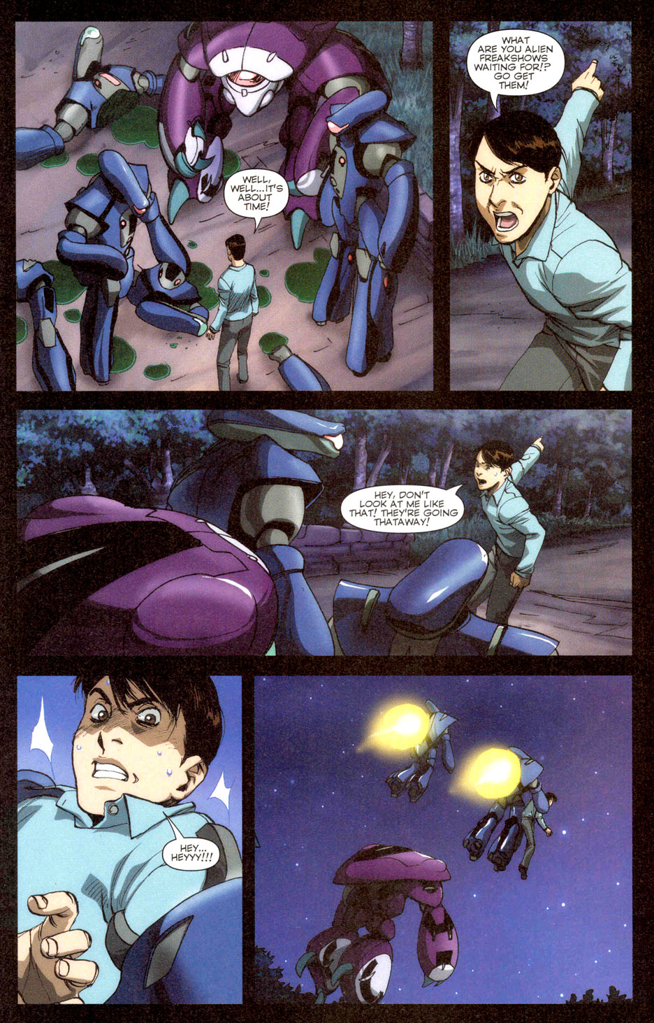 Read online Robotech: Invasion comic -  Issue #3 - 14
