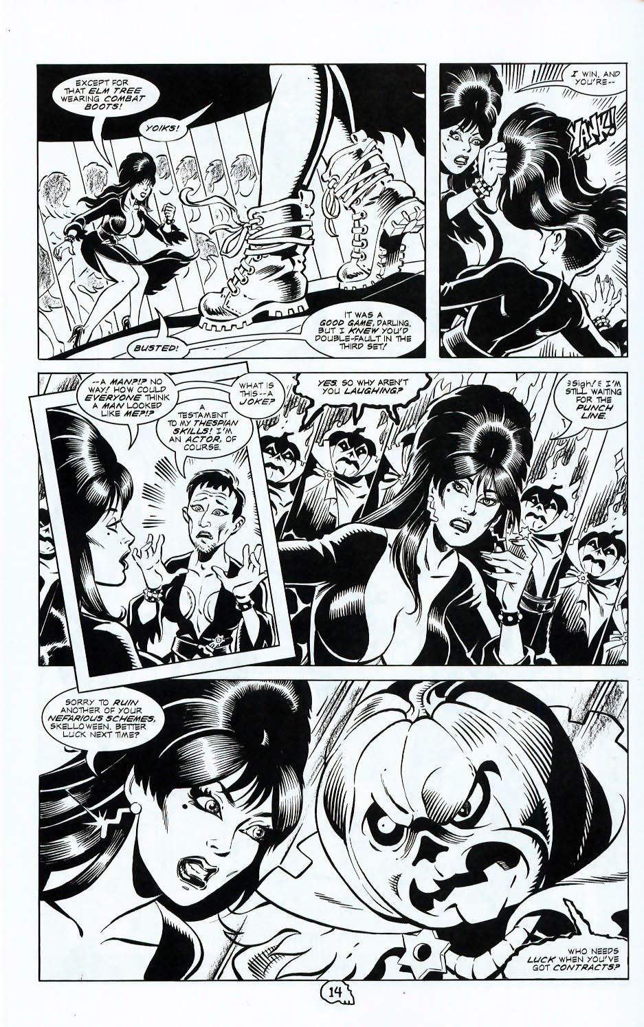 Read online Elvira, Mistress of the Dark comic -  Issue #117 - 16