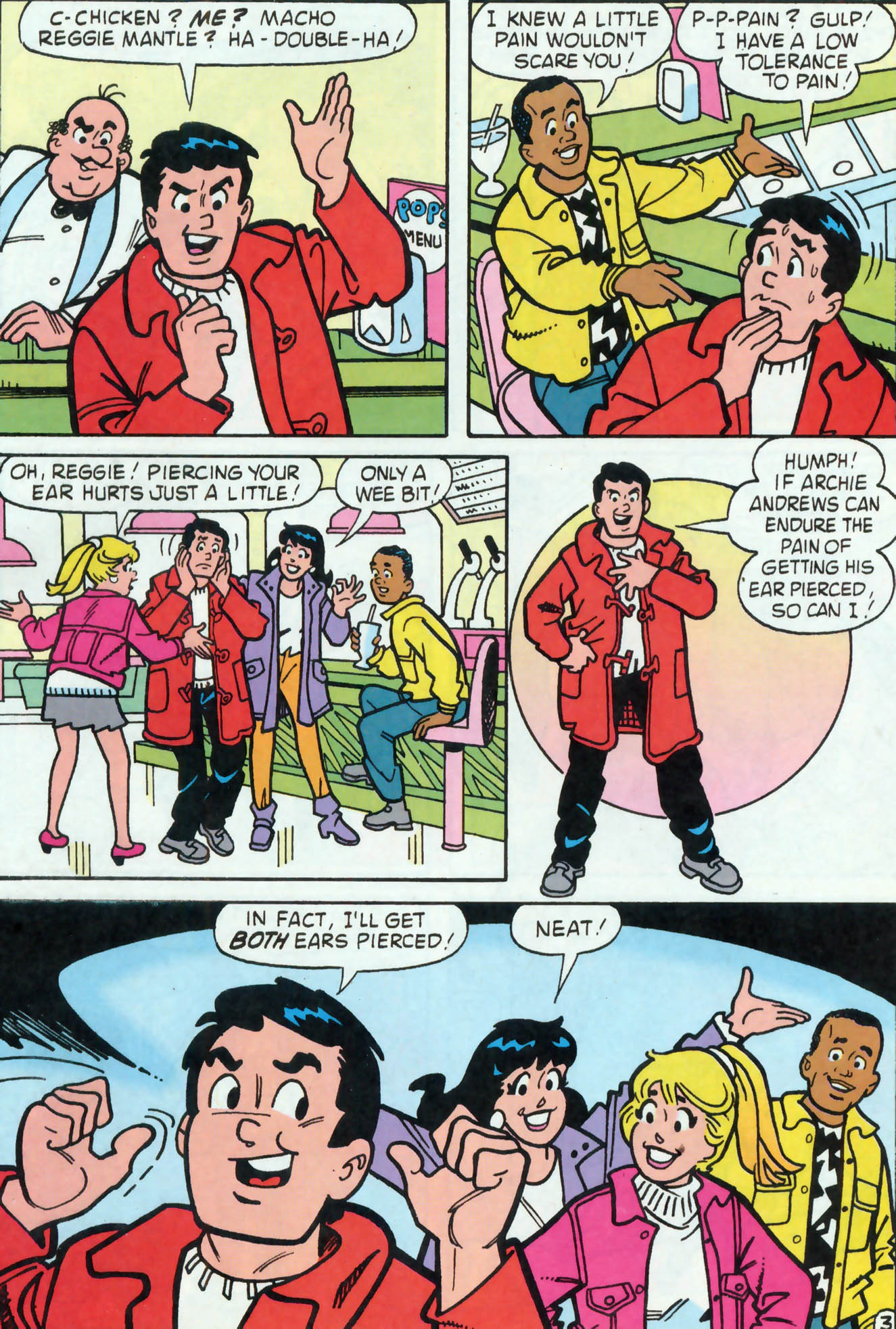 Read online Archie (1960) comic -  Issue #455 - 21