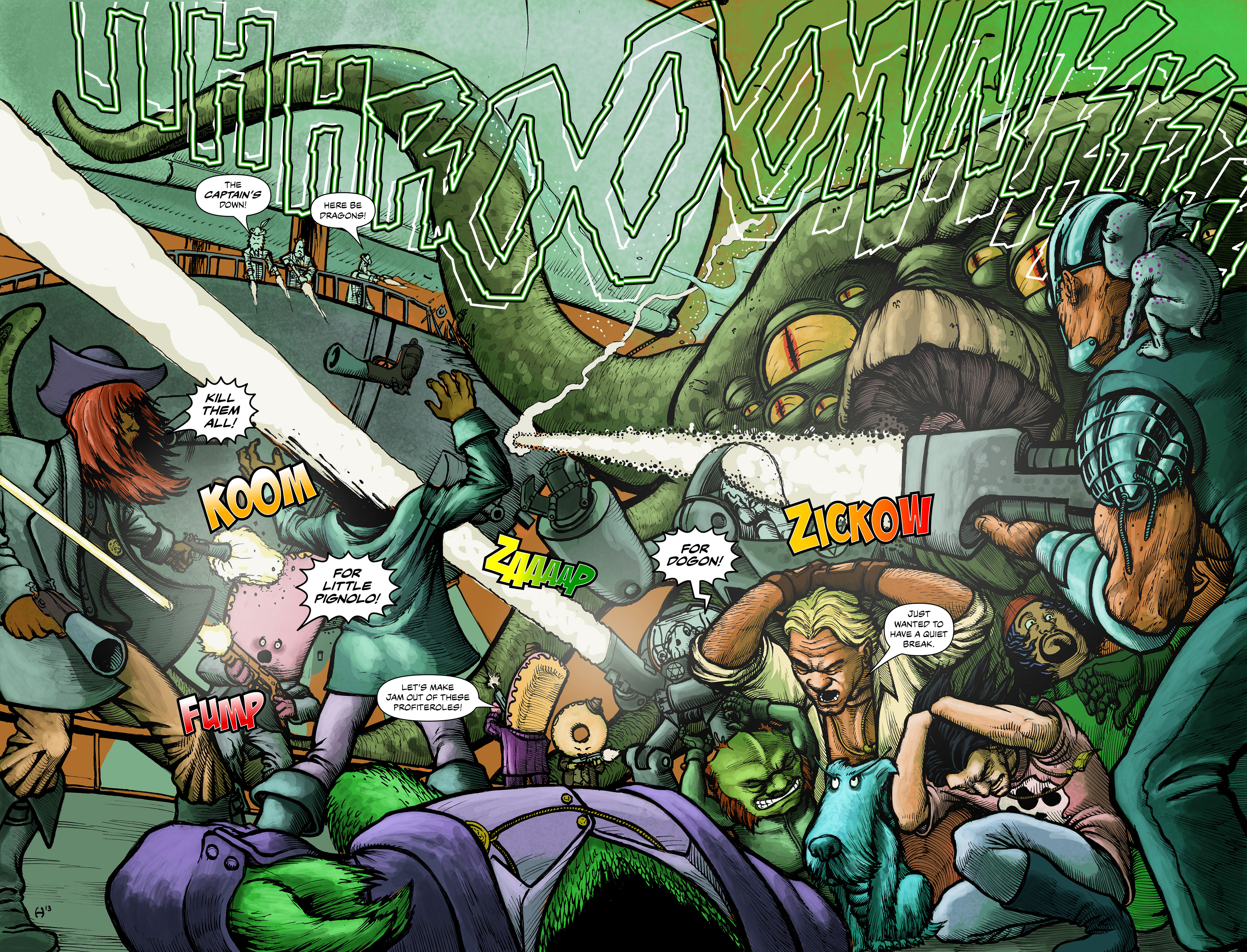 Read online 100% Biodegradable comic -  Issue #12 - 5