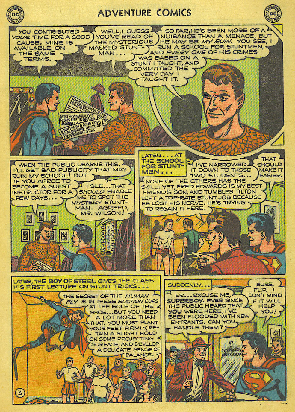 Read online Adventure Comics (1938) comic -  Issue #165 - 4