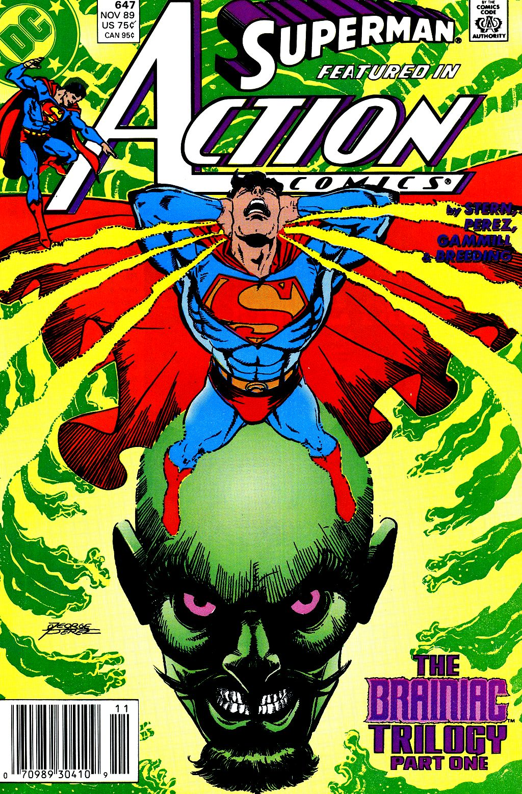 Read online Action Comics (1938) comic -  Issue #647 - 1