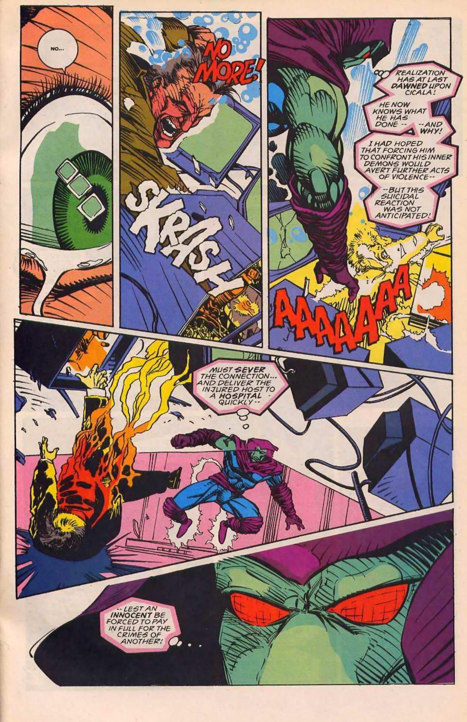 Read online Sleepwalker comic -  Issue #30 - 22