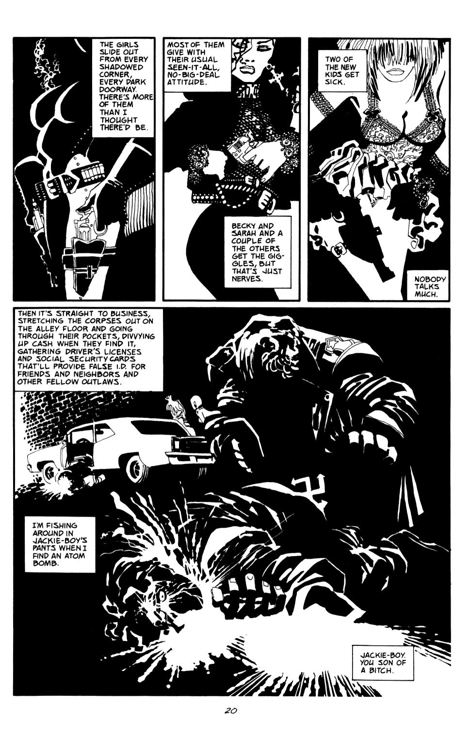 Read online Sin City: The Big Fat Kill comic -  Issue #2 - 21