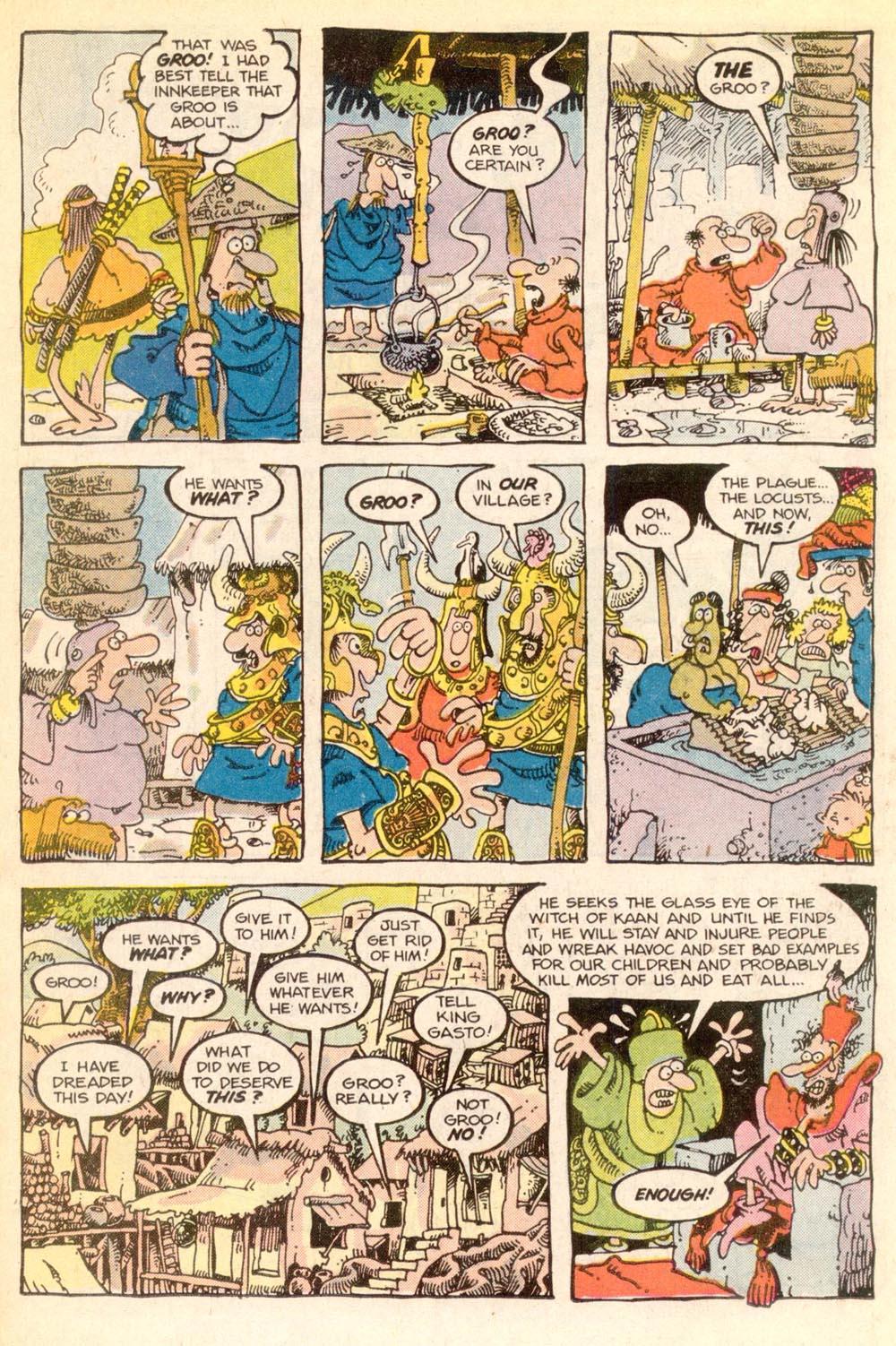 Read online Sergio Aragonés Groo the Wanderer comic -  Issue #21 - 12