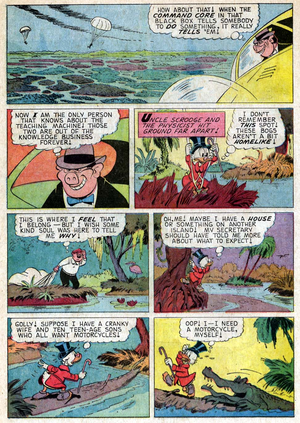 Read online Uncle Scrooge (1953) comic -  Issue #57 - 12