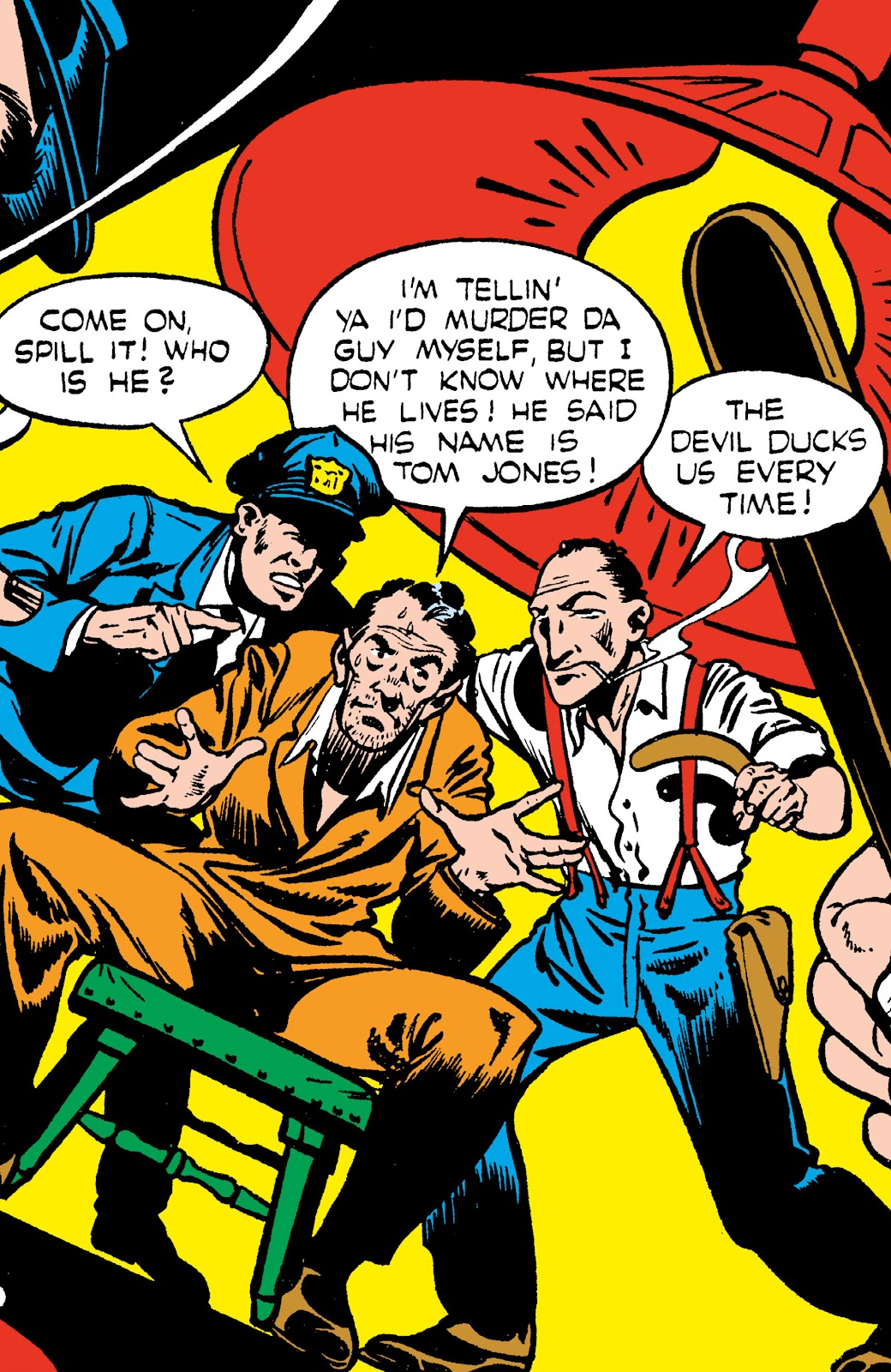 Read online Crime Does Not Pay Archives comic -  Issue # TPB 4 (Part 1) - 4