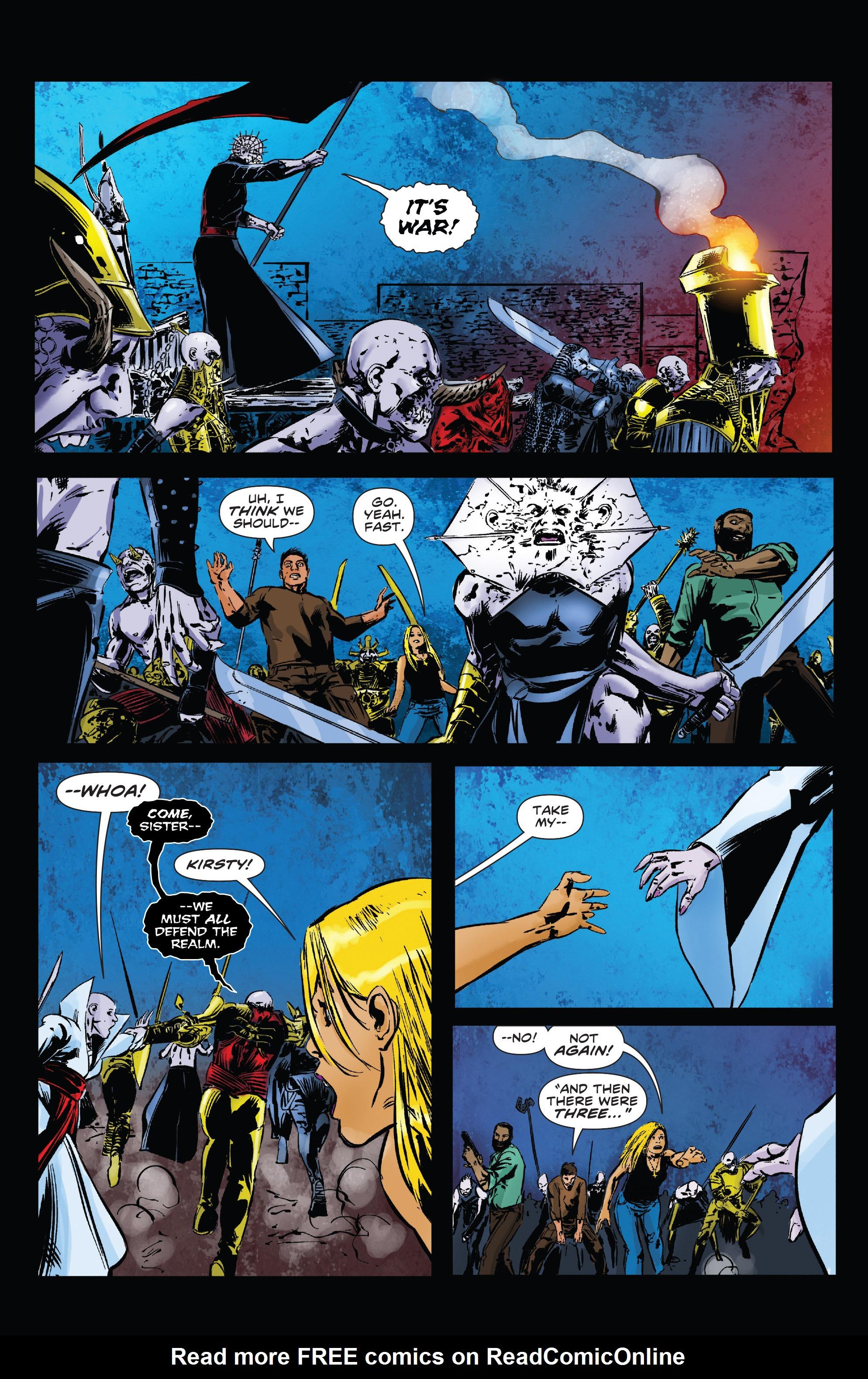 Read online Clive Barker's Hellraiser: The Dark Watch comic -  Issue # TPB 3 - 48