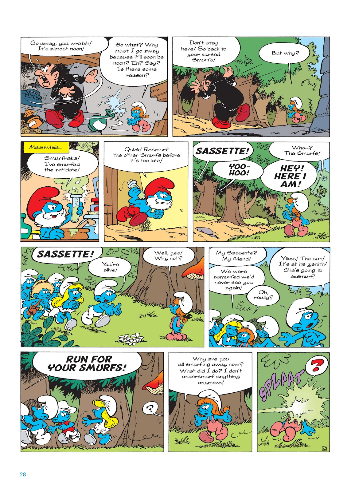 Read online The Smurfs comic -  Issue #15 - 29