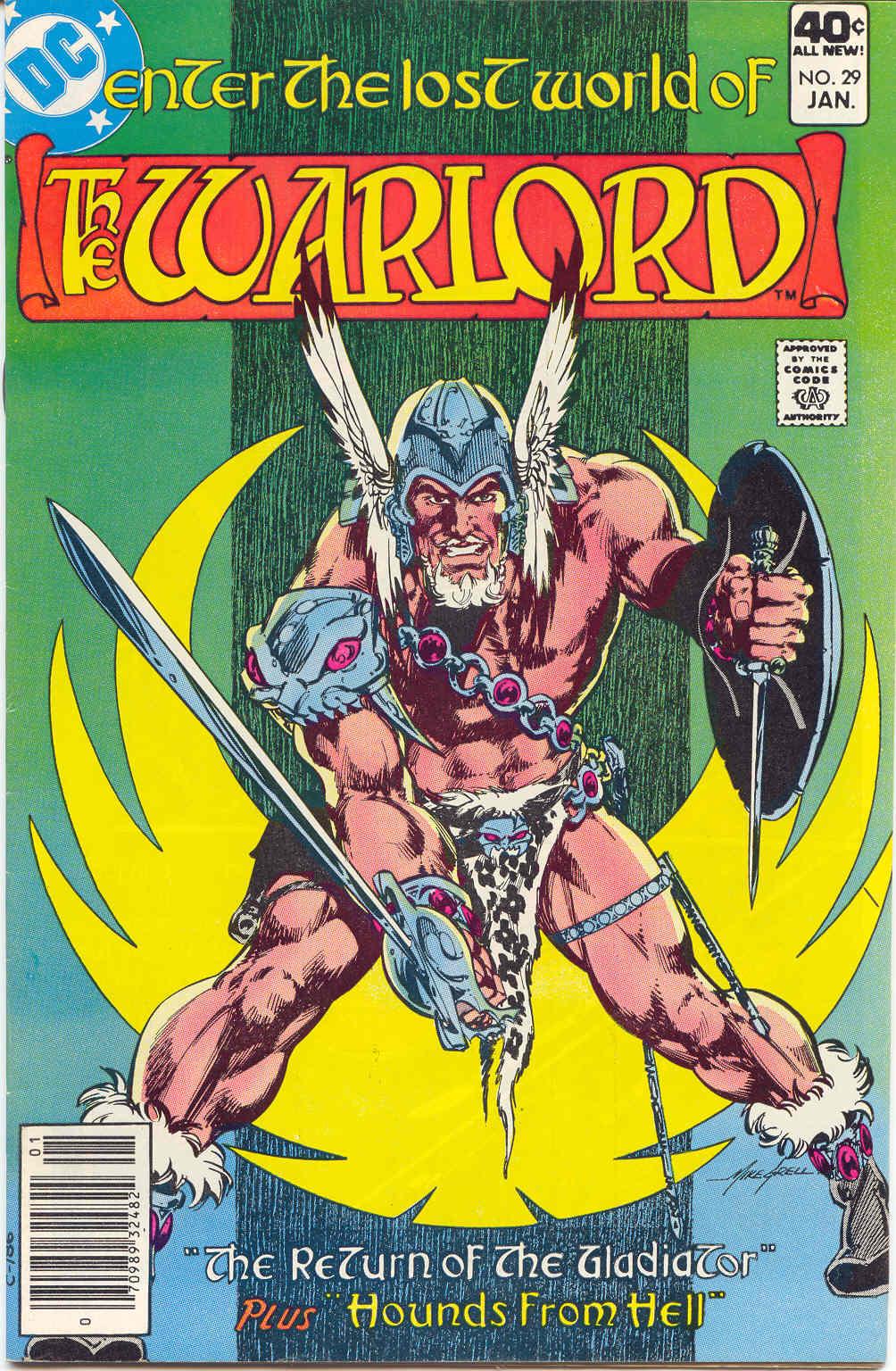 Warlord (1976) 29 Page 1