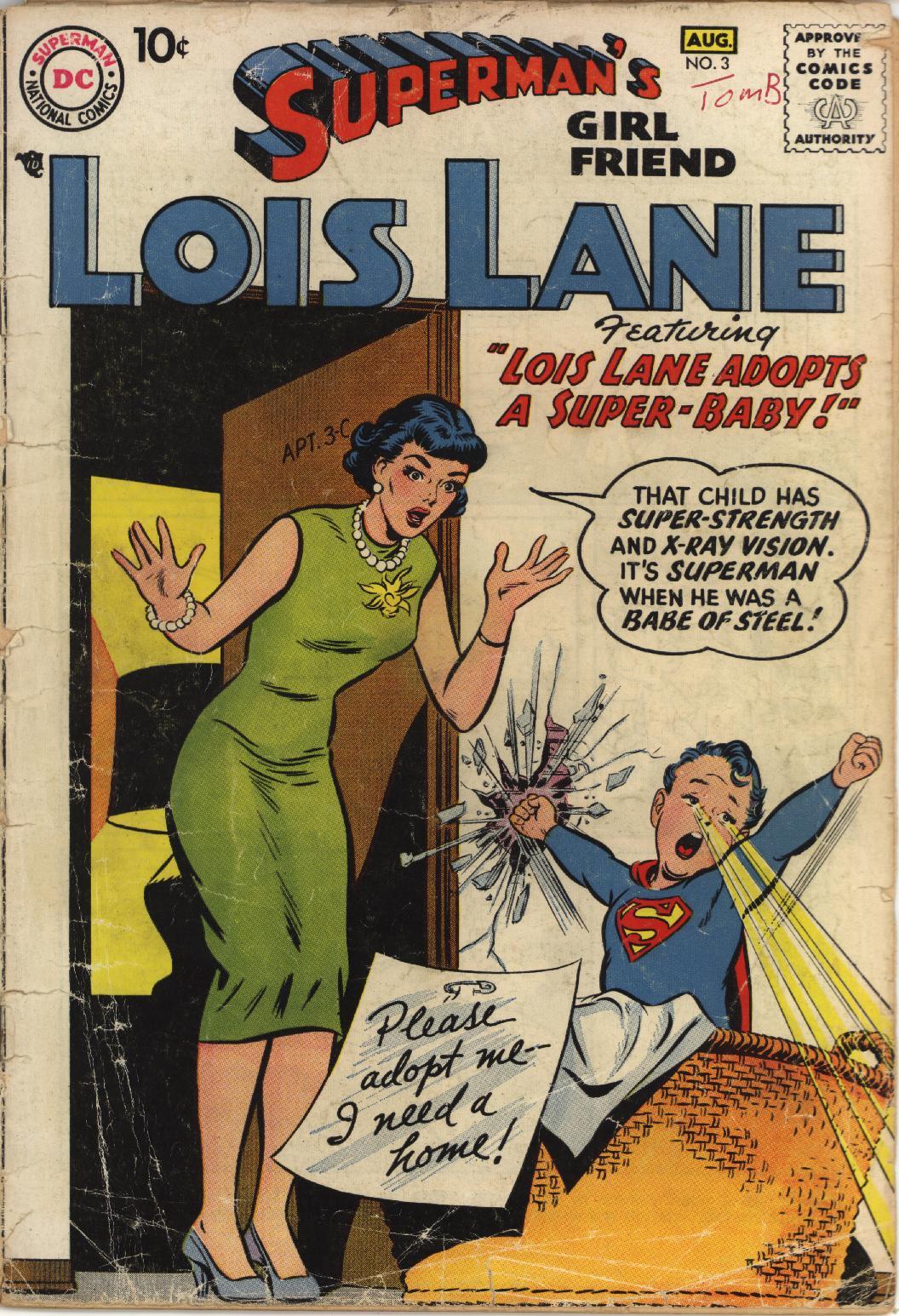 Supermans Girl Friend, Lois Lane 3 Page 1