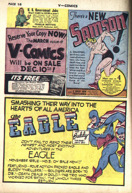 Read online V...- Comics comic -  Issue #1 - 20