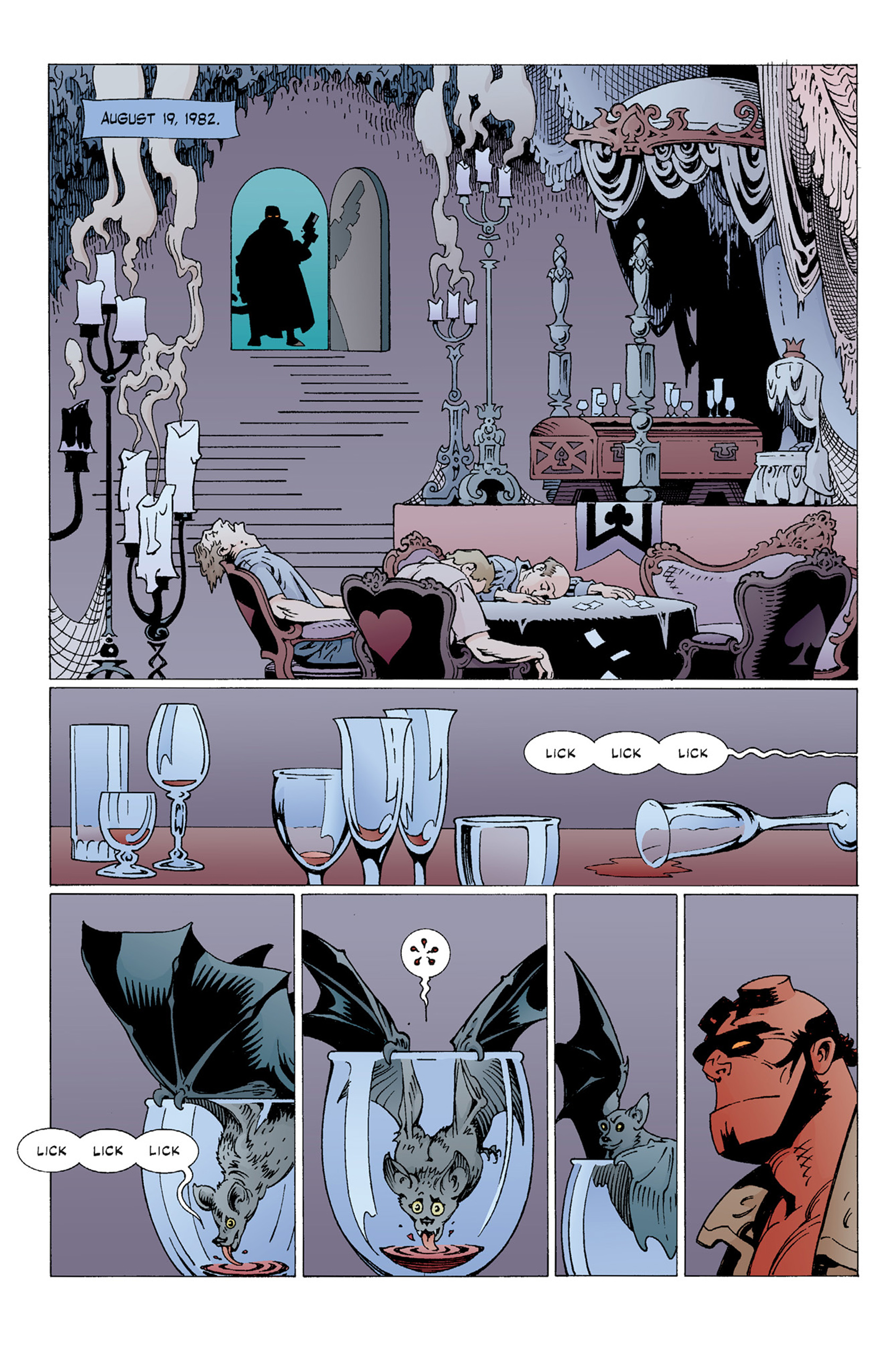 Read online Hellboy: The Troll Witch and Others comic -  Issue # TPB - 40