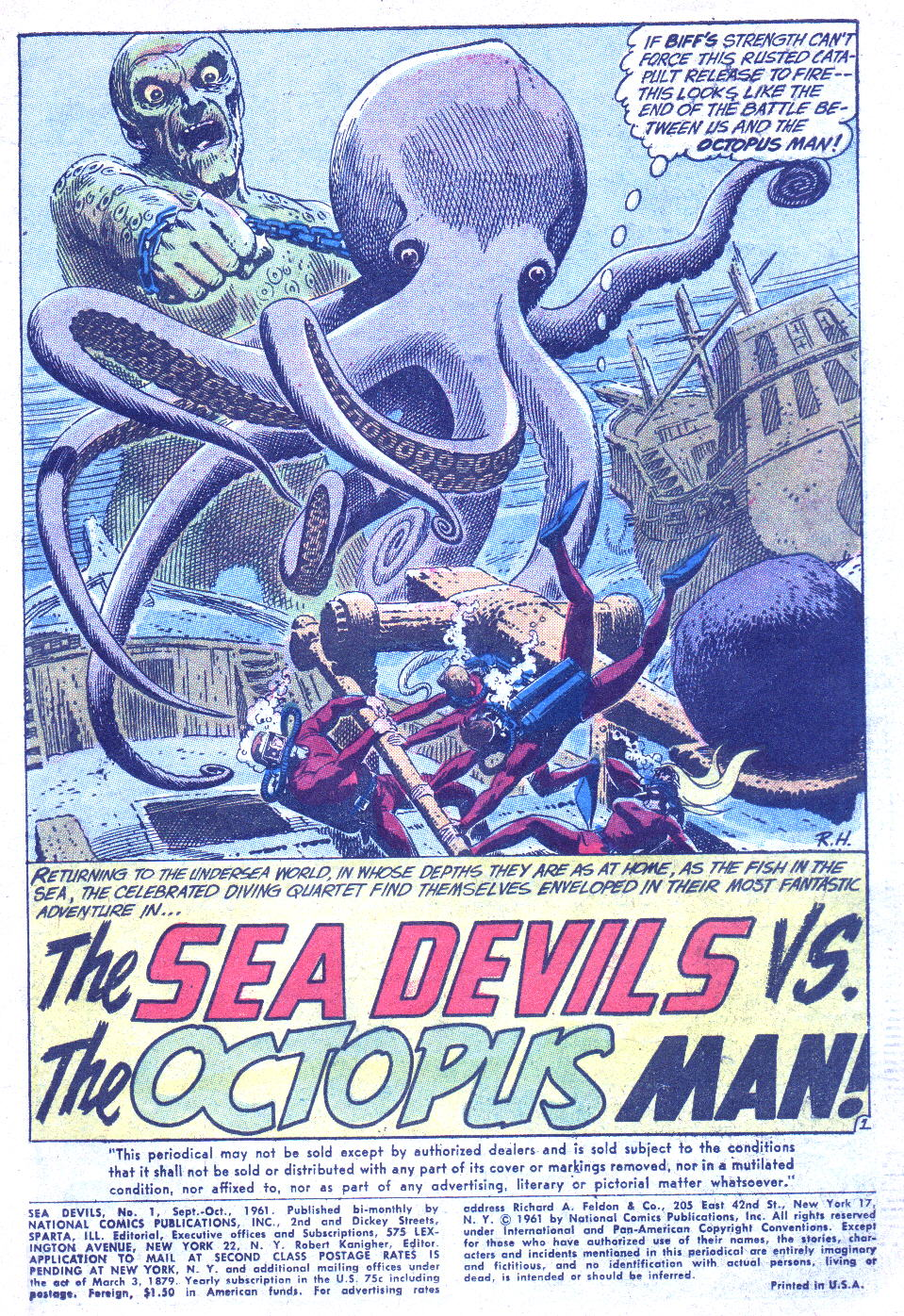 Read online Sea Devils comic -  Issue #1 - 4