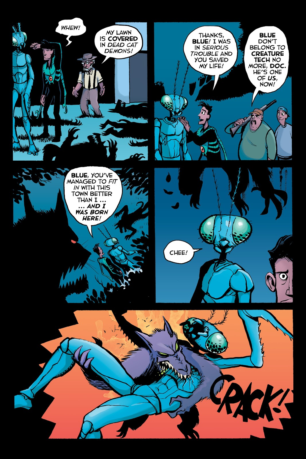 Read online Creature Tech (2019) comic -  Issue # TPB (Part 2) - 44