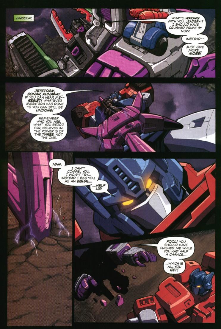 Read online Transformers Armada comic -  Issue #7 - 20