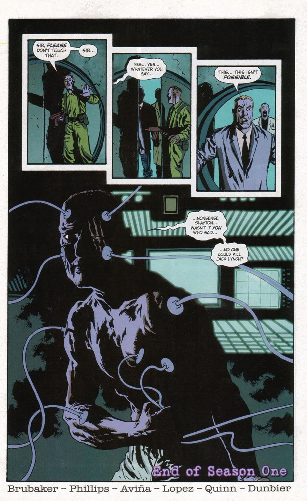Read online Sleeper comic -  Issue #12 - 24