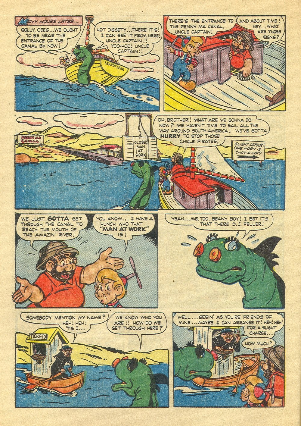 Four Color Comics issue 635 - Page 10