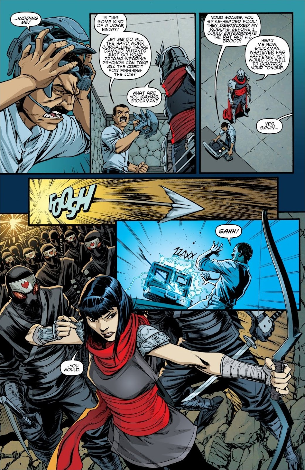 Read online Teenage Mutant Ninja Turtles: The IDW Collection comic -  Issue # TPB 6 (Part 3) - 23