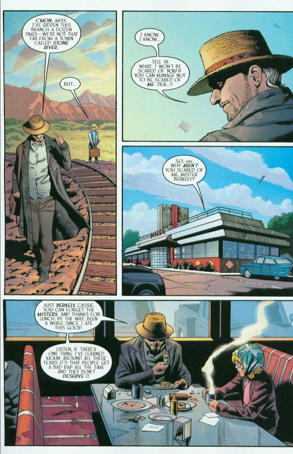 Read online Route 666 comic -  Issue #5 - 8