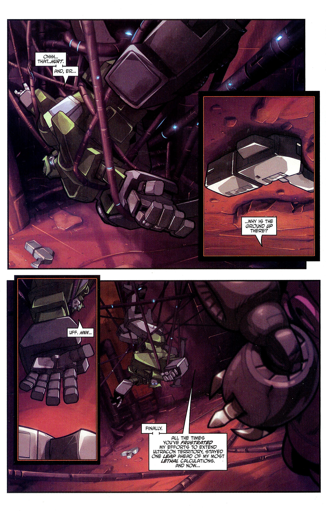 """Read online Transformers War Within: """"The Dark Ages"""" comic -  Issue #2 - 15"""