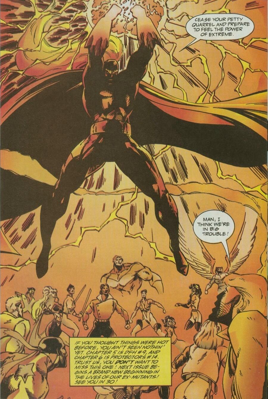 Read online Ex-Mutants comic -  Issue #12 - 29